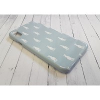 Hare Duck Egg Blue Phone Case