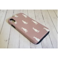 Hare Phone Case Vintage Heather Tough
