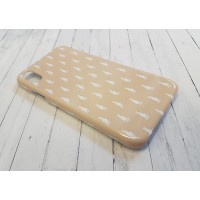 Hare Pattern Phone Case Wheat