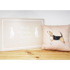 Beagle Dog Cushion