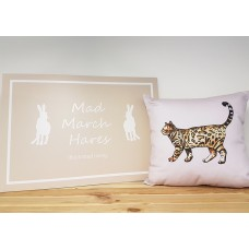 Bengal Cat Cushion