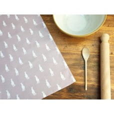 Hare Tea Towel Vintage Heather