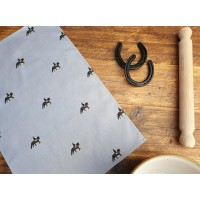 Equestrian Patterned Tea Towel