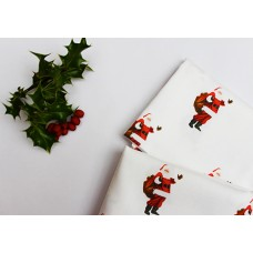 Santa Tea Towel